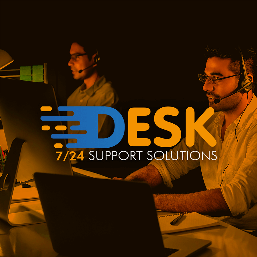 7/24 Desk Logo Design
